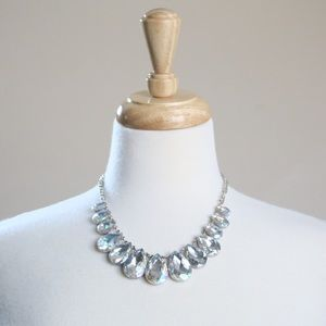 Jewelry - Statement Necklace - Crystal Drop